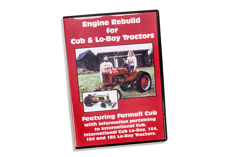 Rebuild DVD For Farmall Cubs and Lo-Boys