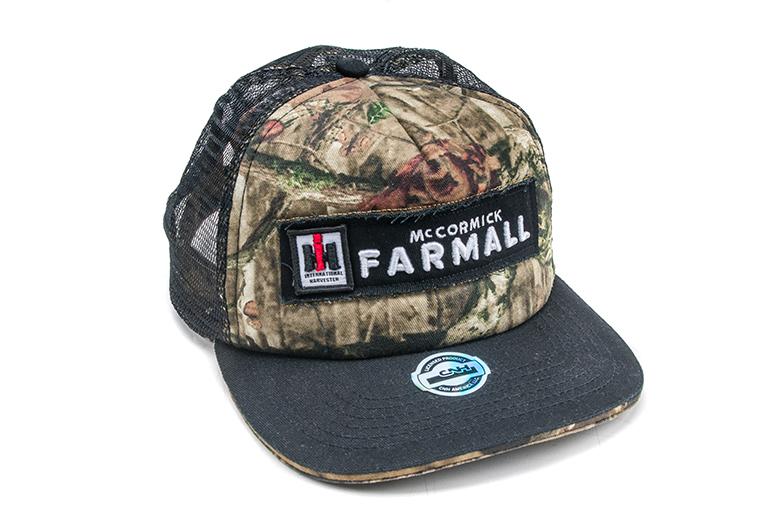 Farmall Camo Trucker Style Hat, Cap