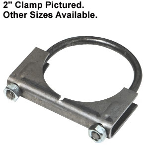 Muffler Clamp 3 1/2 Diameter