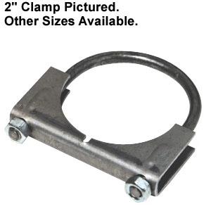Muffler Clamp 4-1/2  Diameter