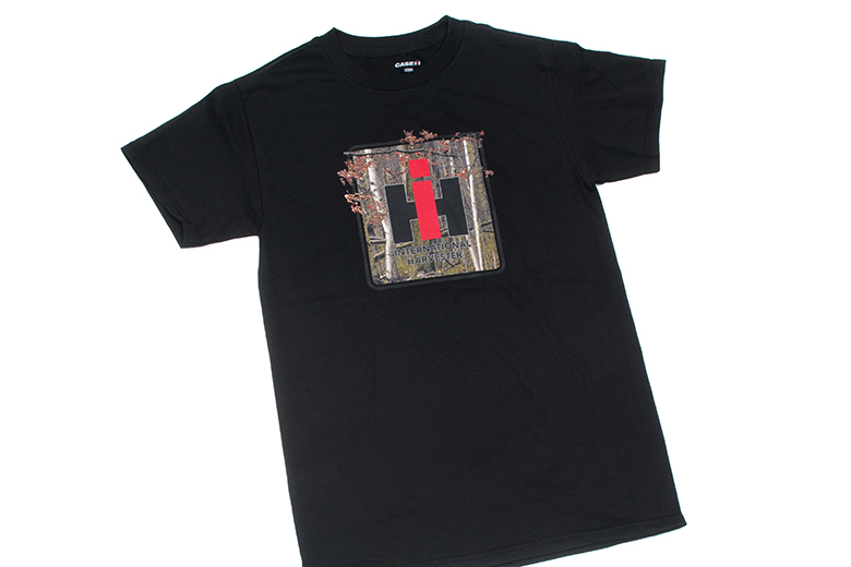 Last Chance IH Logo Camo Black T-Shirt
