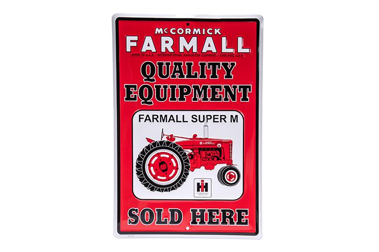 McCormick Farmall Sign metal