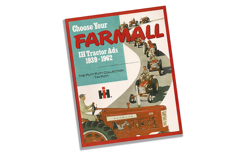 Farmall IH Tractor Ads 1939-1962 book