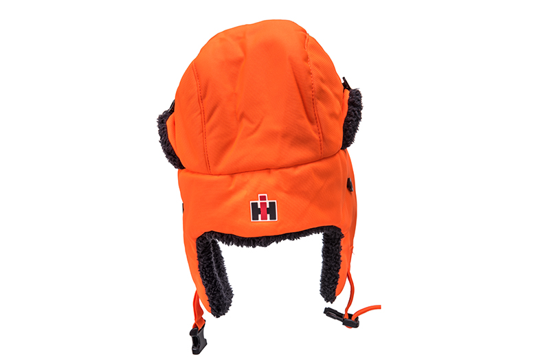 Blaze Orange IH Trapper hat