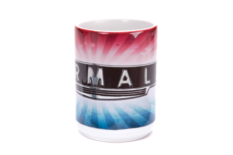 Red White and Blue - Front plate logo - Farmall Mug
