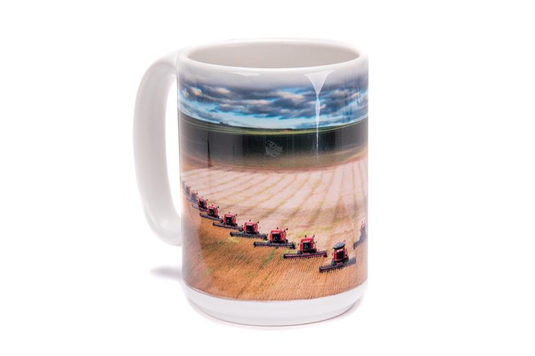 Farmall combine mug