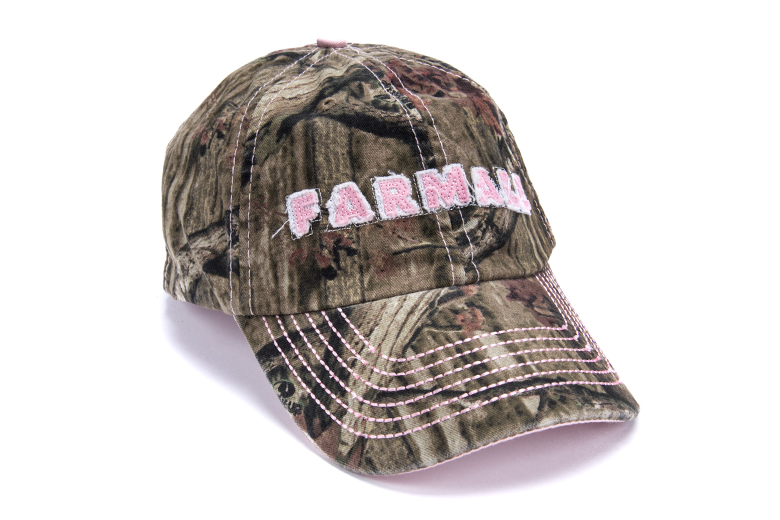 Farmall Womens Licensed Camo Cap-limited supply