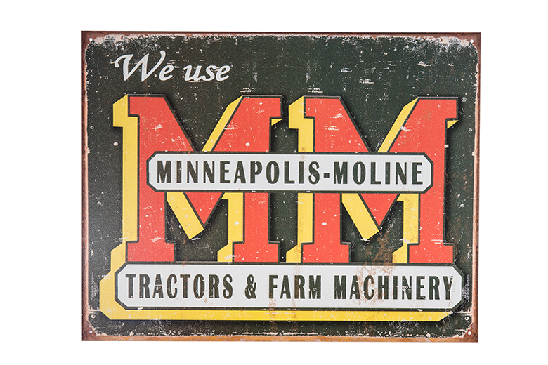 Minneapolis Moline Metal Sign Toys Books Amp Gifts