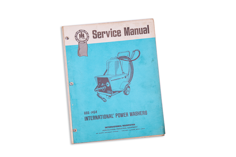 International service manual for a Power Washer