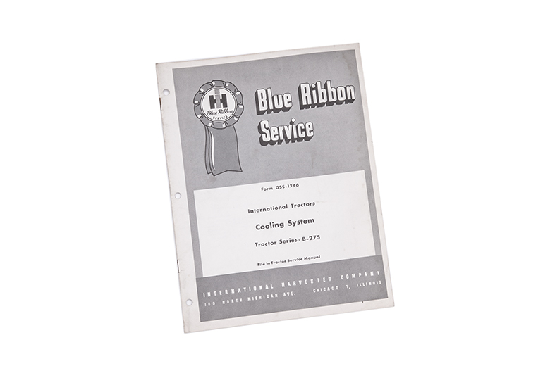 Blue Ribbon Service International Tractors Cooling System
