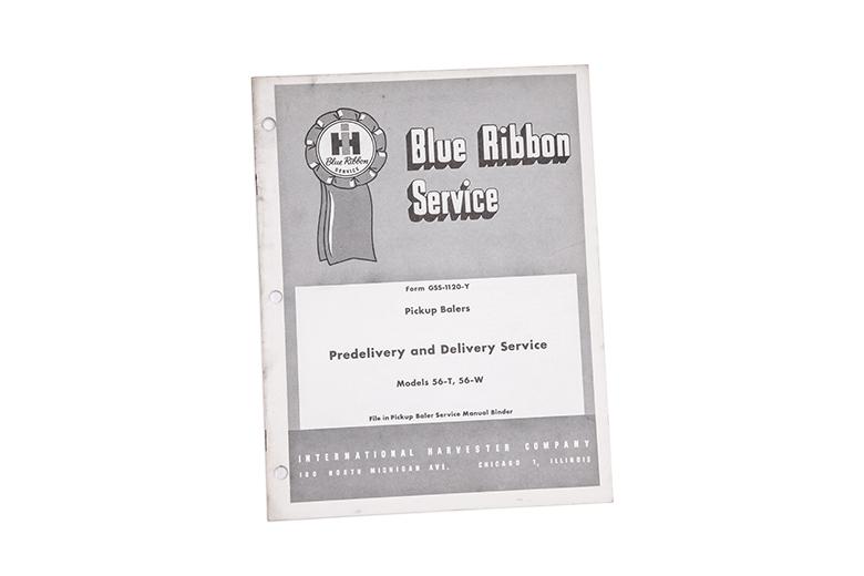 Blue Ribbon Service manual Pickup Balers International