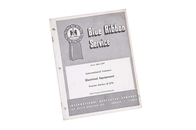 Blue Ribbon Service international Tractors Electrical equipment B-275