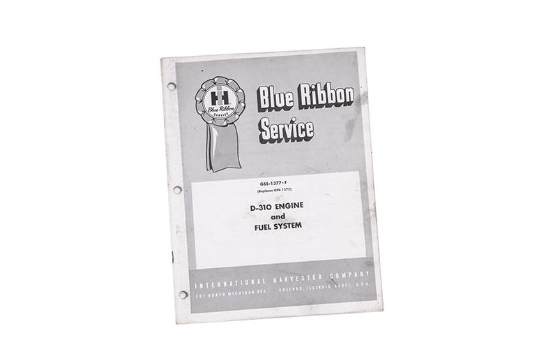 Blue Ribbon Service manual for International D-310 Engine & Fuel System