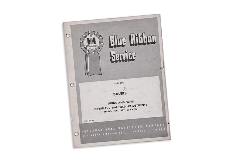 Blue Ribbon Service Balers
