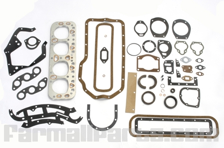 Complete Overhaul Gasket Kit With Seals - Farmall M , W, MTA, Super MTA.