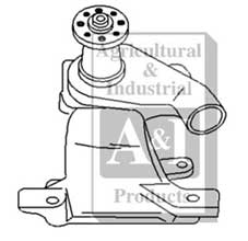 Water Pump - Farmall 454, 464, 544, 574, 674