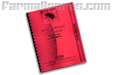 Parts Manual - Farmall C