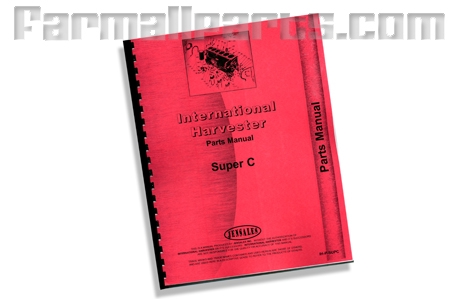 Farmall Super C Parts Manual