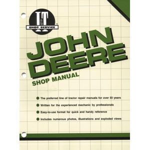 Shop Manual John Deere 1020, 1520, 1530, 2020, 2030