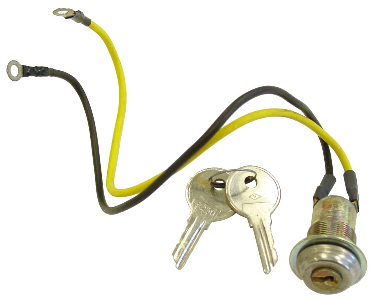 2 wire key switch with 2 keys ignition and light parts. Black Bedroom Furniture Sets. Home Design Ideas