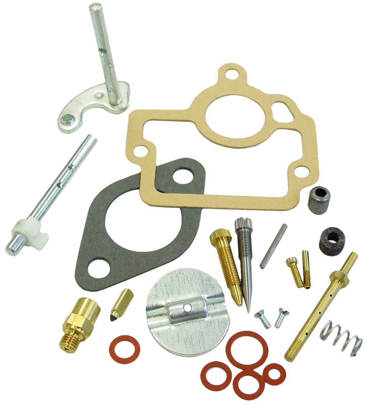 Complete Carburetor Repair Kit Ih Carb Farmall H Hv 4 Series 450 Wiring Harness