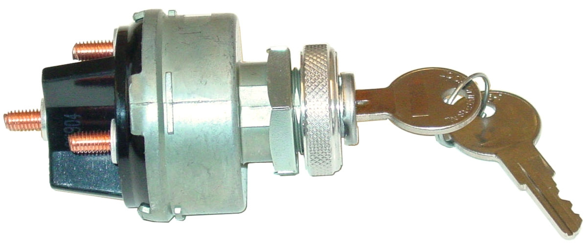 universal 4 wire ignition starter switch - 2 keys