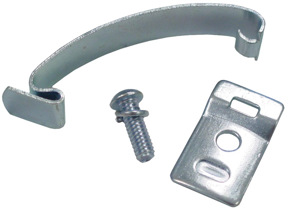 SPRING CLIP & LONGER BRACKET: DELCO DISTRIBUTOR