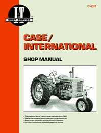 Case/International Shop Manual C-201