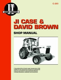 JI Case & David Brown I&T Shop Service Manual C-203