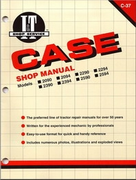 Case/International I&T Shop Service Manual C-37