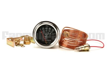 Universal Oil Pressure Gauge 0-80