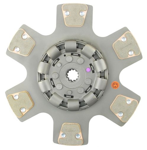 Clutch Disc for for 1066, 1086, 1206, 1256, 1456, 1466, 1468, 3388, 4100, 4156, 4166, 4186, 21206, 21256, and 21456 International - 14 inch