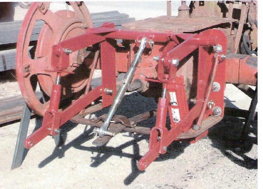 3 Point Hitch Adapter - Farmall H, Farmall 300, Farmall 350