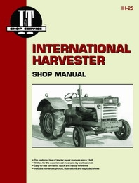 International Harvester I&T Shop Service Manual IH-25