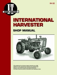 International Harvester I&T Shop Service Manual
