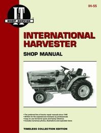 International Harvester I&T Shop Service Manual IH-55