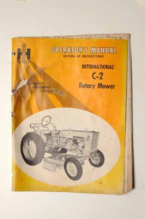 IHMANUAL International C-2 Rotary Mower