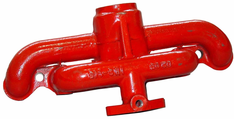 MANIFOLD Exhaust Cub 154, 184, 185