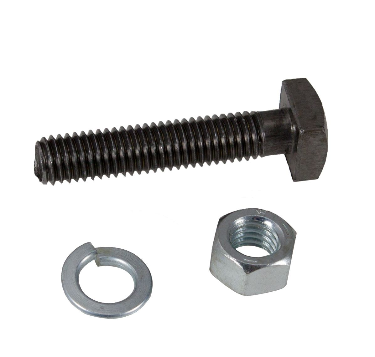 Front Wheel Bolt w/ Nut and Lock