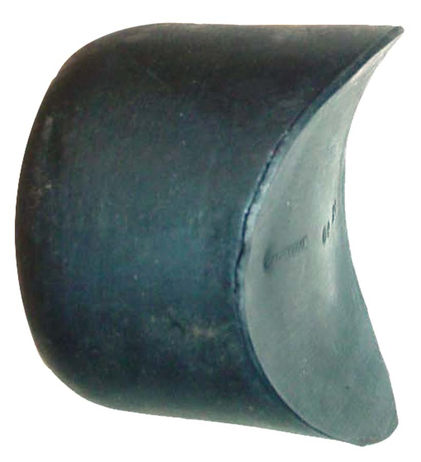 WIDE FRONT AXLE MOLDED RUBBER BUMPER