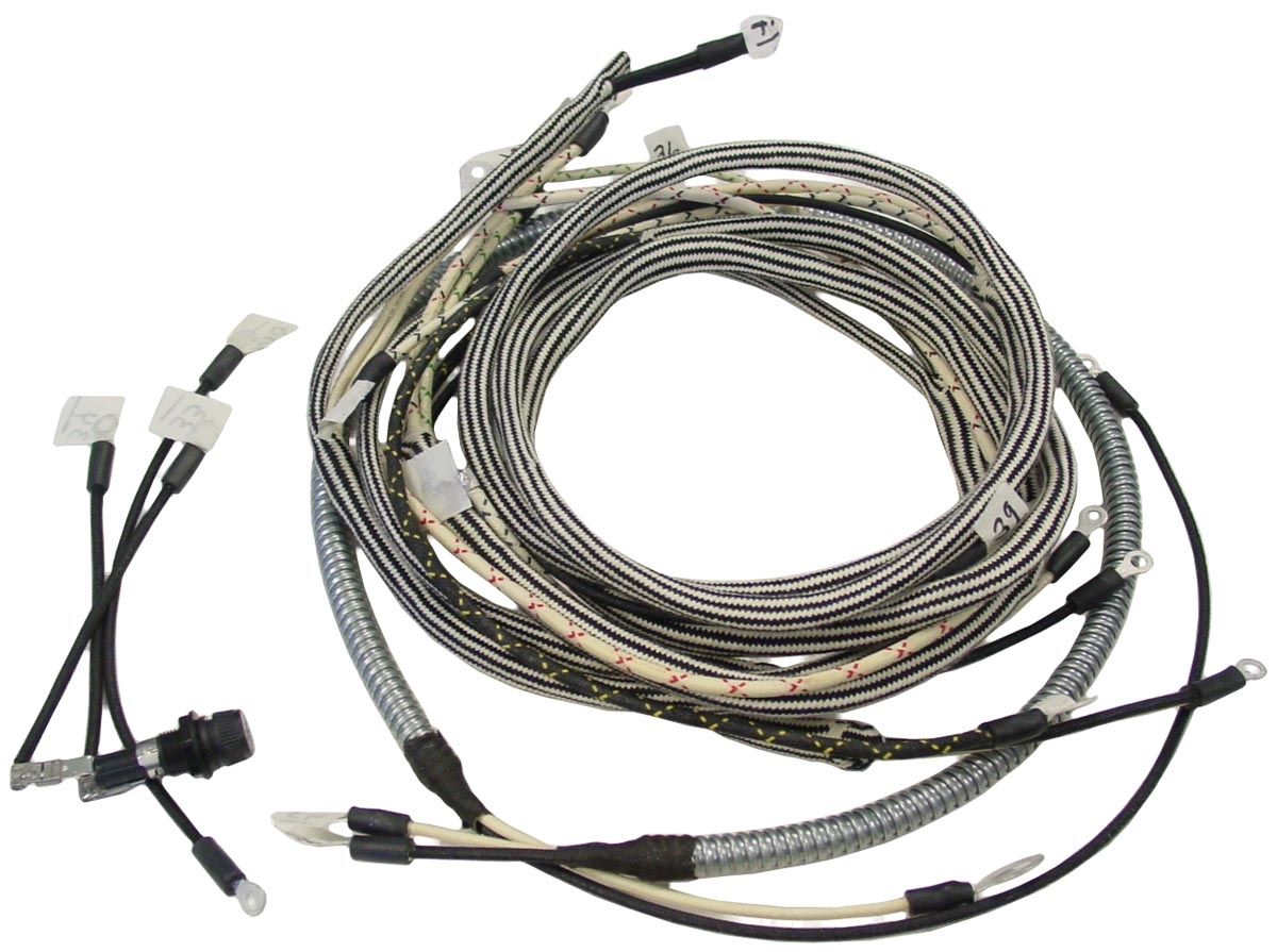 Wiring Harness - Farmall SUPER M Serial #F28175 and Up - 504802 and Up