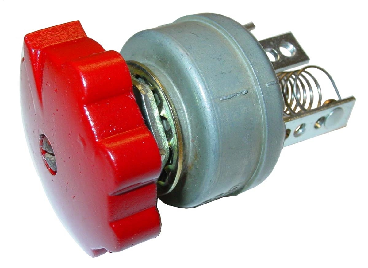 LIGHT SWITCH 12 VOLT ROTARY 3-POSITION - Farmall CUB, A, AV ... on