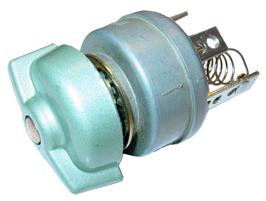 4 POSITION, 6 VOLT ROTARY LIGHT SWITCH