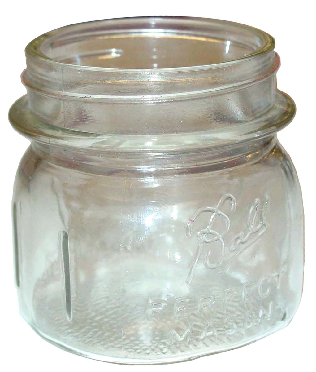 DONALDSON GLASS DUST JAR