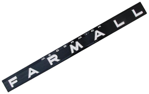 FARMALL SIDE EMBLEM - Farmall  504, 656, 706, 806, 1206