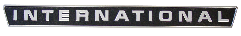 international side emblem - farmall parts