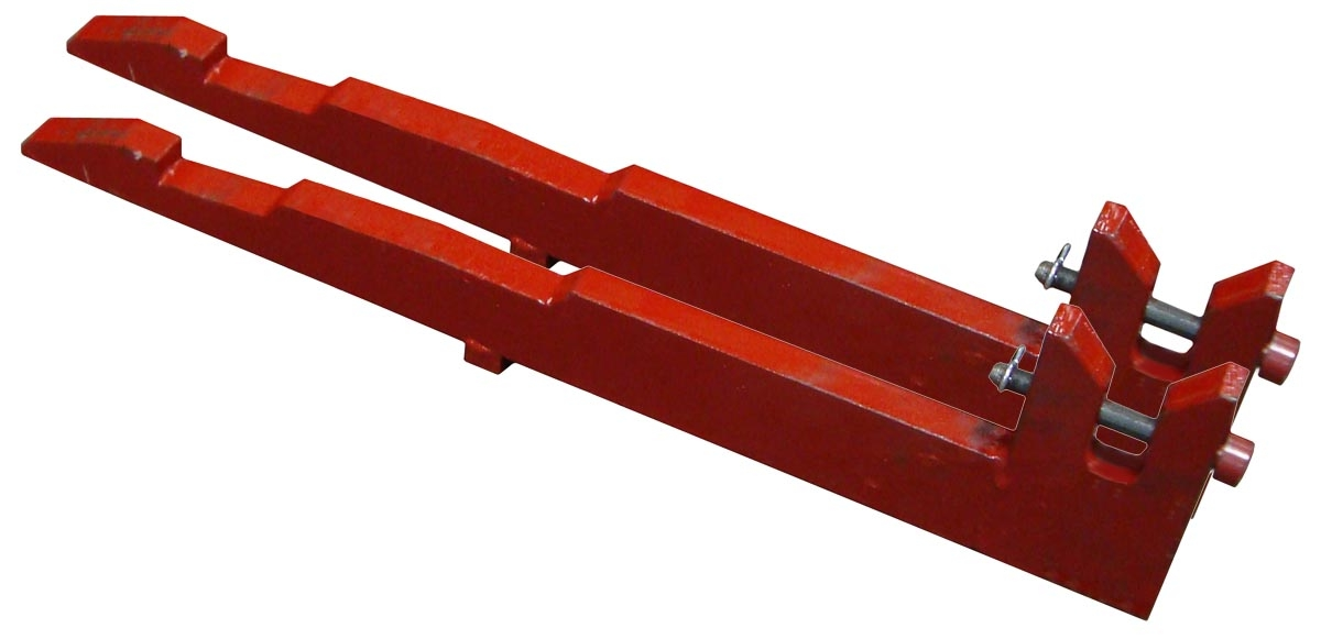 QUICK ATTACH FAST HITCH TO 3 POINT PRONGS (CAT 1 STRAIGHT)- Farmall: C, Super C, 200, 230, 240