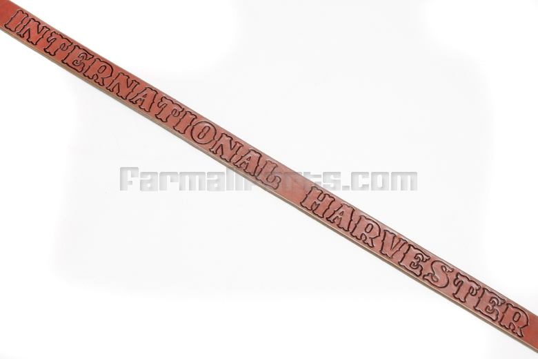 Leather International Harvester Belt - 40 inches long
