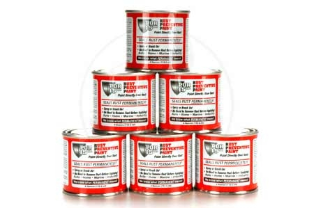 POR-15 Six Pack - 4 Oz. Cans Rust Preventative Paint