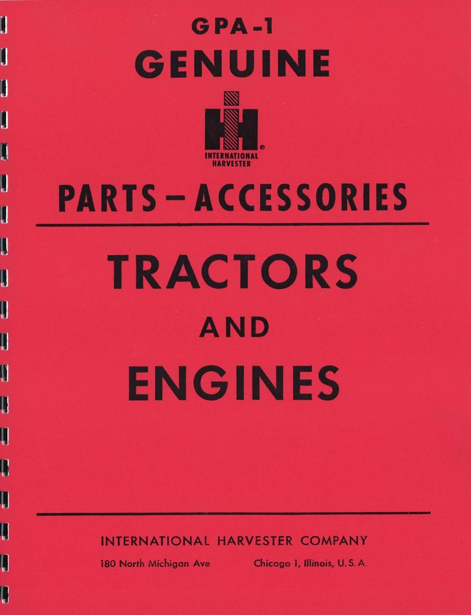 SERVICE ITEMS & ACCESSORIES MANUAL